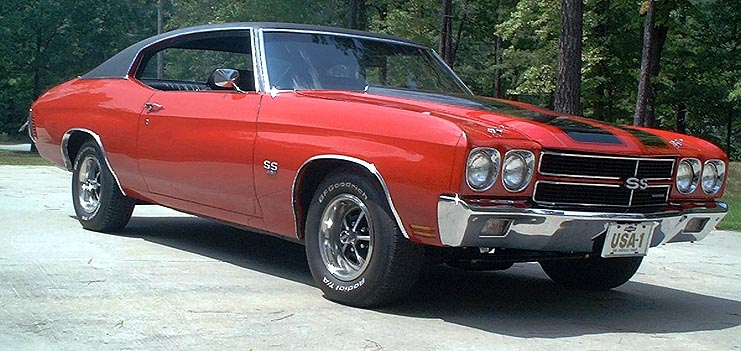 For Sale 70 SS396 Chevelle