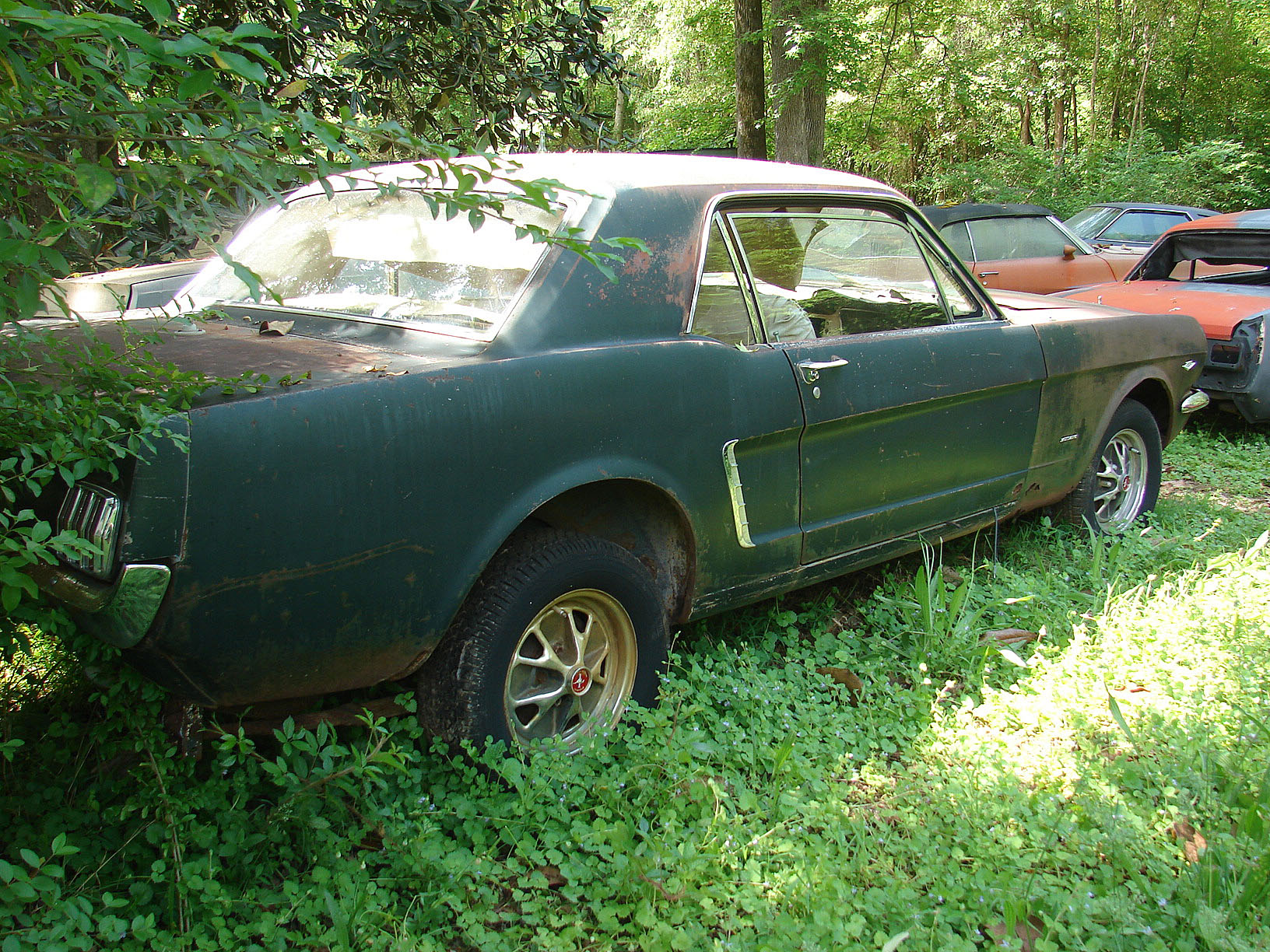 Project Page 1964 Gto Wiring Harness Radio 1 2 Mustang Coupe This Is A Decent Solid Barn Find Early Last Driven In 1986 Paint Appears To Still Be Original And Shows Car That